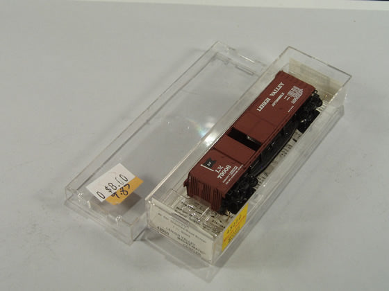 MTL-43050 - 40' Double-Sheathed Wood Box Car,1-1/2 Door, w/side mount brake wheel - Lehigh Valley #79006