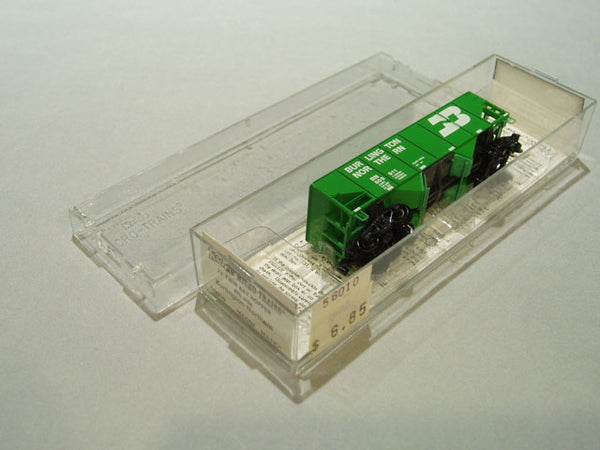 MTL-56010 - 33' Twin Bay Hopper, Rib Side - Burlington Northern #508911