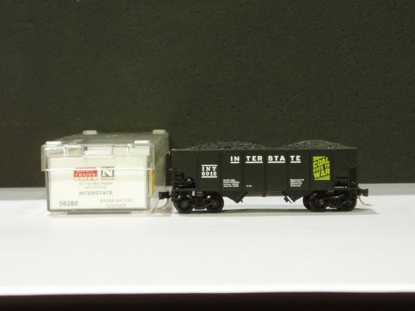 MTL-56280 - 33' Twin Bay Open Hopper, Ribbed Sides - Interstate #6012