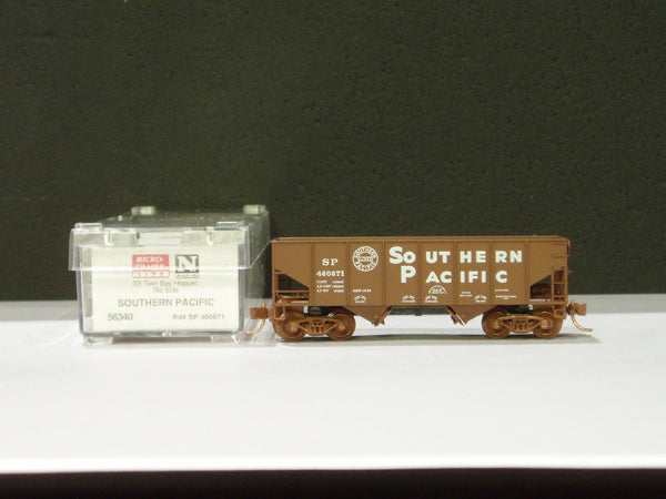 MTL-56340 - 33' Twin Bay Hopper, Rib Side - Southern Pacific