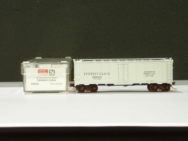 MTL-59040 - 40' Steel Ice Reefer - PRR