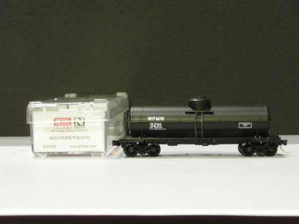MTL-65550 - 39' Single Dome Tank Car - Western Pacific