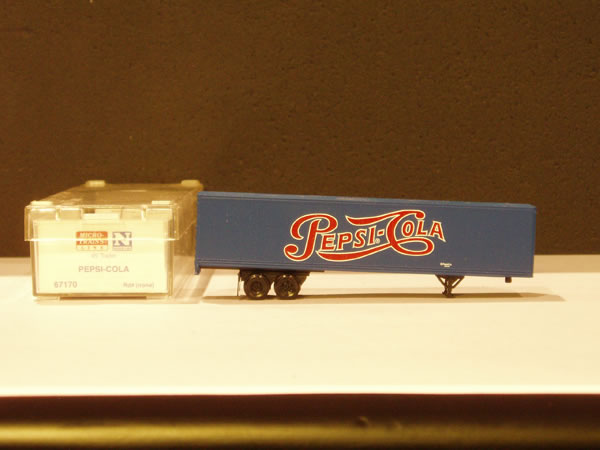 MTL-67170 - 45' Trailer - Pepsi Cola