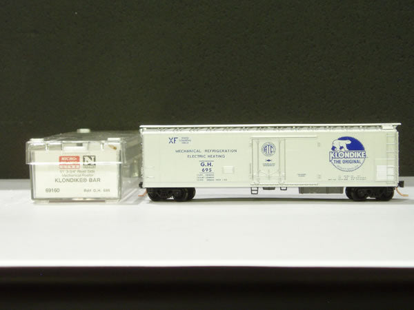 MTL-69160 - 51' Rivet Side Mechanical Reefer - Klondike