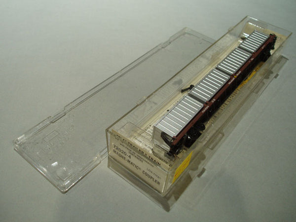 MTL-72020 - 89' COFC Flat Car - Trailer Train #972216