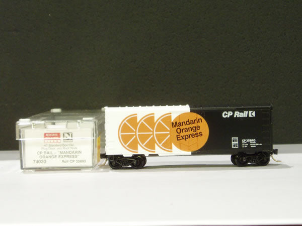 MTL-74020 - 40' Standard Box Car, Plug Door, w/o Roofwalk - Canadian Pacific