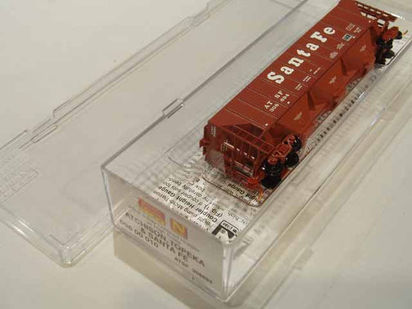 MTL-096 00 010 - ATSF PS-2 3-Bay High-Side Covered Hopper - #308694