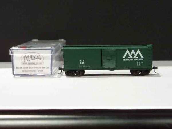 ATL-45842 - Burlington Northern 40' Boxcar - Road #137796