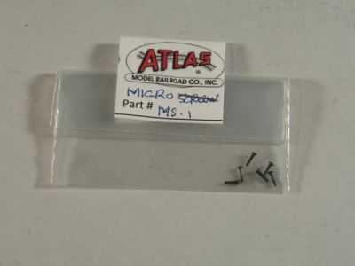 Atlas Micro Black Screws