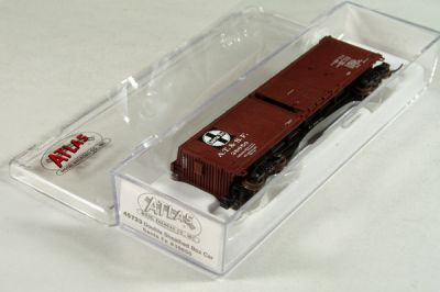 ATL-45723 - Santa Fe Double Sheathed Boxcar - Road #38850