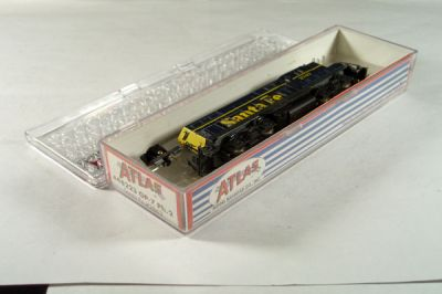 ATL-4302- Santa Fe GP-7 Locomotive - Road #2707