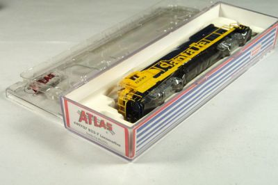 ATL-49707 - Santa Fe B23-7 Locomotive - Road #6390