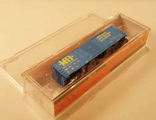 FVM-8015-03 - Meridian and Bigbee FMC 5347 cu.ft. Single Door Boxcar - Road #4013