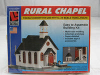 LL-7464 - Rural Chapel N Scale Building Kit - Never opened, still sealed in the box