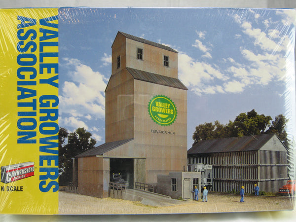 WLT-933-3251 - Valley Growers Association N Scale Building Kit - Never opened sealed in box