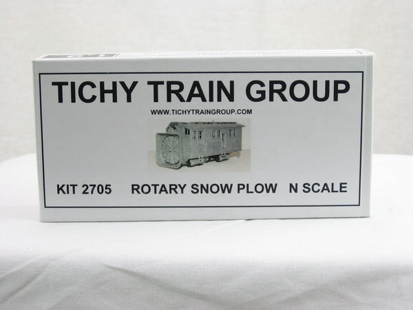 TIC-2705 - Rotary Snow Plow Kit - N Scale