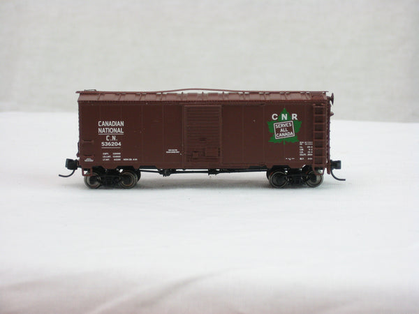 IMR-66806-13 - CN 40' Canadian Modified 1937 AAR Boxcar - Road #536204 - N Scale