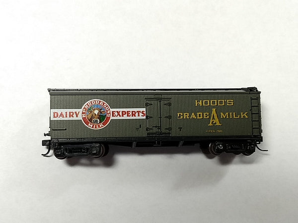 ATH-11623 - Hood's & Dairy 40' Wood Milk Car - Road #501