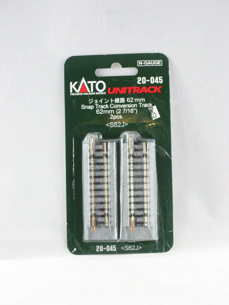"KAT-20-045 - Snap Track Conversion Track 62mm - 2 7/16"" - 2pcs."
