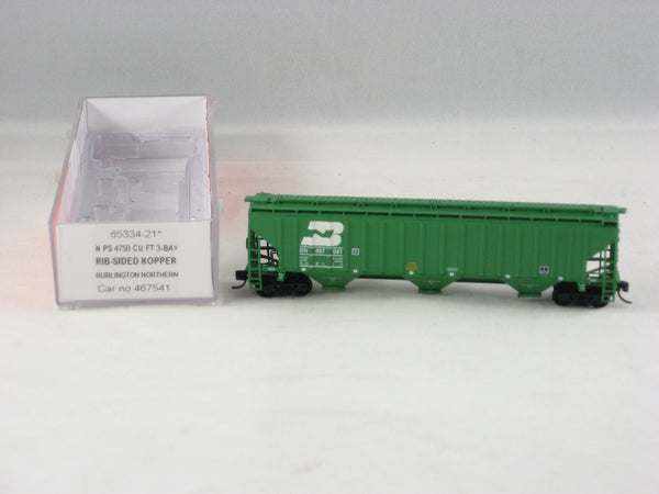 IMR- 65334-21- BN - Rib-Sided Hopper Car - Road #467541