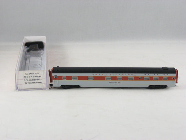 CCS - 6562-01 - EL - 6-6-4 Sleeper Car - Road# American Way