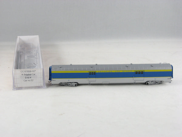 CCS - 7656-02 - D&H - Baggage Car - Road# 52