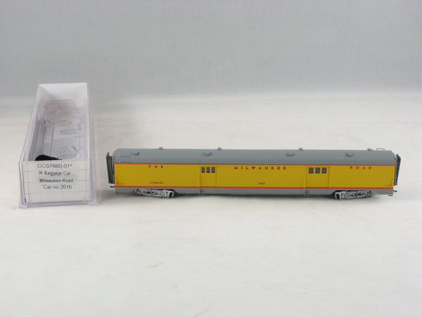 CCS - 7660-01 - MILW - Baggage Car - Road# 2016