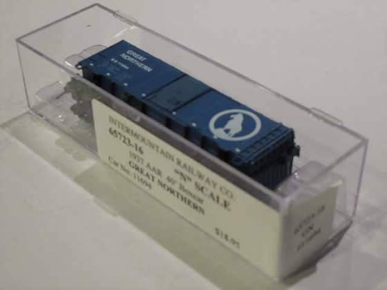 IMR-65723-16 - Great Northern 1937 AAR 40' Boxcar - Road #11694