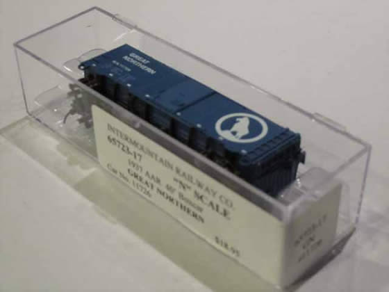 IMR-65723-17 - Great Northern 1937 AAR 40' Boxcar - Road #11726
