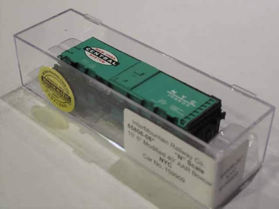 "IMR-65806-06 - New York Central 10'6"" Modified AAR 40' Boxcar - Road #159909"