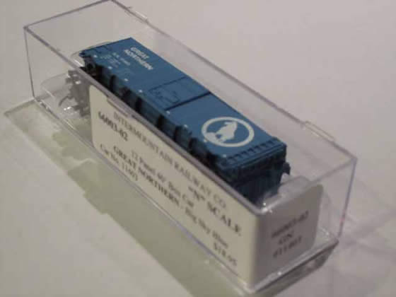 IMR-66003-02 - Great Northern-Big Sky Blue 12 Panel 40' Boxcar - Road #11403