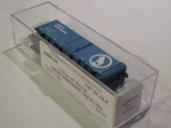 IMR-66003-04 - Great Northern-Big Sky Blue 12 Panel 40' Boxcar - Road #11631