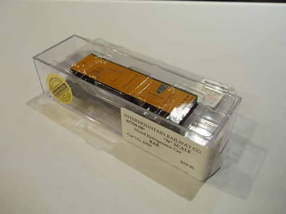 IMR-67709-04 - BAR Wood Refrigerator Car - Road #6329