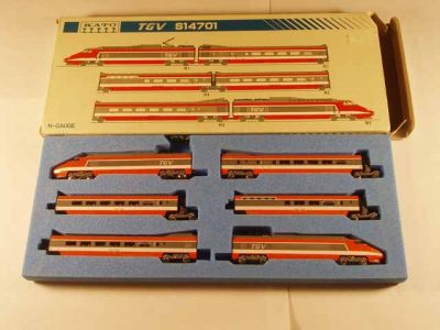 KAT-10-091 TGV Basic 6 Car Bullet Train Set