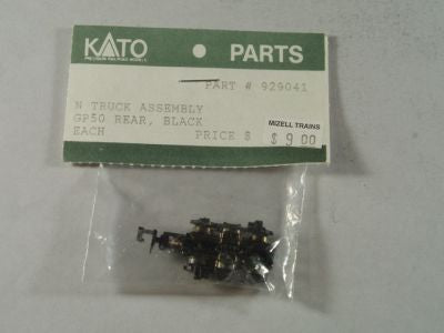 KAT Truck GP 50 Rear Black