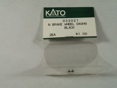 KAT Brake Wheel Dash9 Black