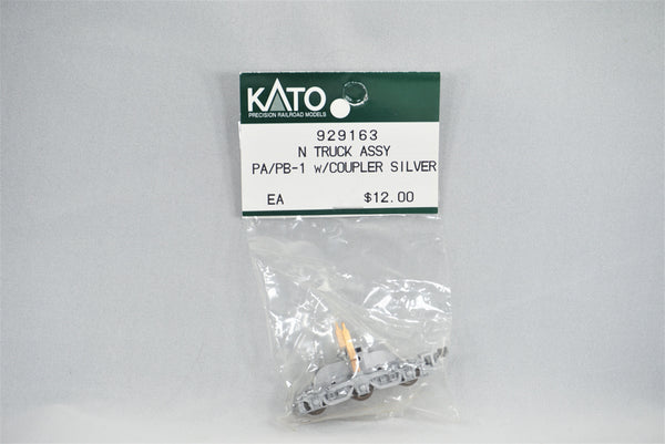 KAT 929163 - Truck assembly with coupler - PA/PB-1 - Silver