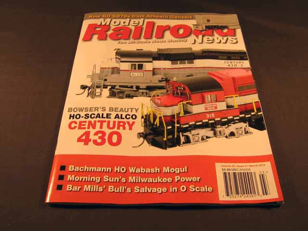 Model Railroad News Magazine - March 2014
