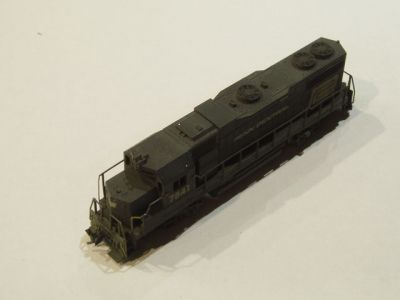 KAT-Custom 7841 - Penn Central GP38 Locomotive - Road #7841