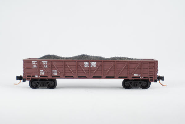 Car-N-Bag - Bachmann®- Gondola Car w/Micro-Trains trucks and couplers - No Box - SLSF # 6140