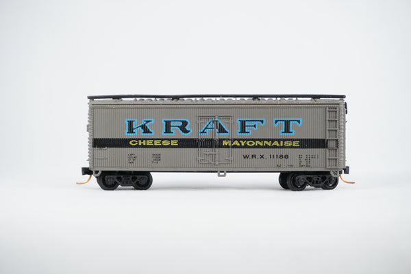 Car-N-Bag - Bachmann®- Reefer car w/Micro-Trains trucks and couplers  - No Box - WRX #11186
