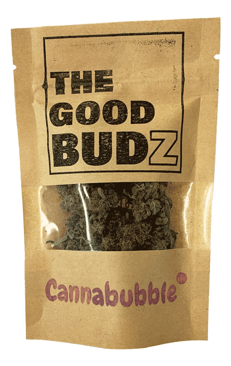"""Cannabubble"" Hemp Flowers UK Tea - The Good Budz"