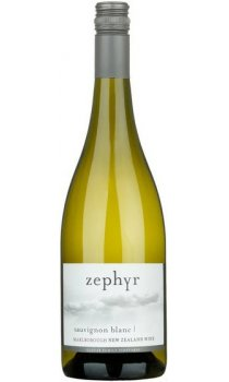 Zephyr Wines, Sauvignon Blanc, Marlborough, New Zealand
