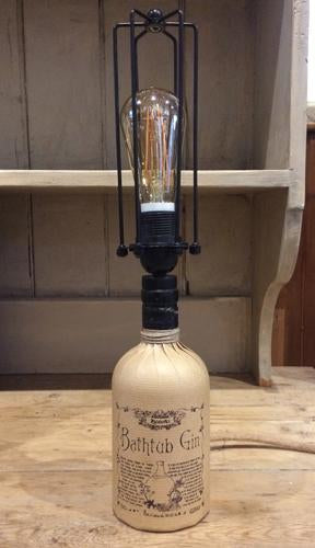 Handcrafted Bathtub Gin Table Lamp