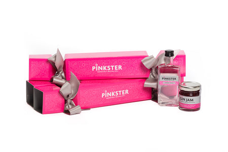 The Pinkster Gin Cracker, Miniature Gift Set