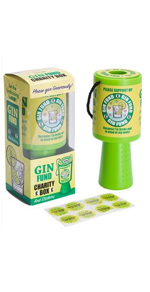 'Gin Fund' Charity Box