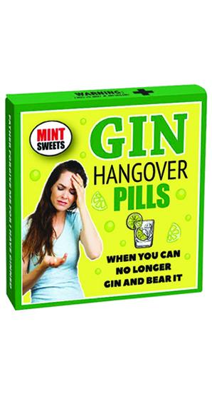 Gin Hangover Pills (Large Mints)