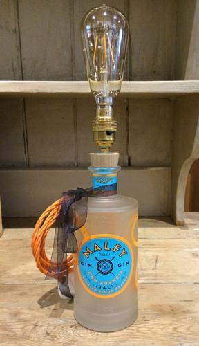 Handcrafted Malfy Orange Gin Table Lamp