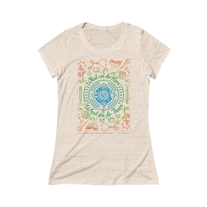 "Women's ""What We Do Here"" Triblend"