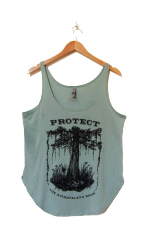 SAVE THE SWAMP festival tank